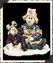 """Boyds Wee Folkstone """"Florence & Katerina..Cold Comfort""""  #36511 - NIB- Retired - $14.99"""