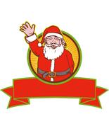 4 Father Christmas CC-Digital Clipart-Christmas... - $3.00