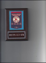 BOSTON RED SOX WORLD SERIES BANNER PLAQUE CHAMPIONS CHAMPS BASEBALL MLB - $3.95