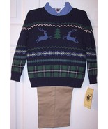 NWT Good Lad Boy's 3 Pc. Christmas Holiday Rein... - $18.99