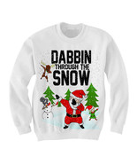 UGLY CHRISTMAS SWEATERS DABBIN THROUGH THE SNOW CHEAP SWEATERS LADIES ME... - $29.70