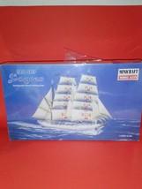 Sagres Portuguese naval training tall ship minicraft 1/350 model skill l... - $10.00