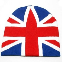 NEW PUNK FASHION WINTER SKI SNOWBOARDING HAT ~ UNION JACK UK FLAG BEANIE... - $5.96 CAD
