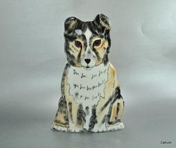 Dogs by Nina Lyman Collie Dog Figural Figurine ... - $28.00