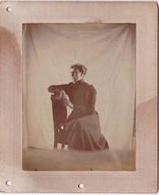 Dora Foss Cabinet Photo - Ellsworth, Maine - $17.50
