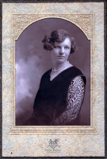 Ada Mae Clark Cabinet Photo - Biddeford, Maine