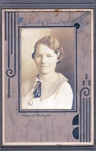 Shirley Kimball Cabinet Photo - Waterville, Maine (1935) - $17.50