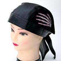 NEW UNISEX BIKER SKULL CAP DO RAG WEAR HAT HEAD WRAP SKELETON HAND BANDA... - ₹546.88 INR