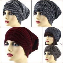 NEW WOMEN FASHION DESIGN CROCHET KNITTED WINTER BEANIE BERET HAT SKI HT4... - $7.95 CAD