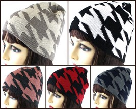 NEW WOMEN FASHION DESIGN CROCHET KNITTED WINTER BEANIE BERET HAT SKI AAH... - $7.92 CAD