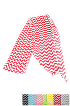 New Chevron Stripe Scarf Belt Head Band Wrap Black Baby Blue Gray Yellow... - $9.27 CAD