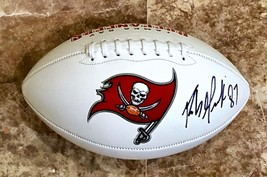 Rob Gronkowski Autographed Hand Signed Tampa Bay Buccaneers Logo Football w/COA - $349.99