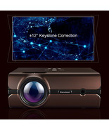Excelvan Home Big Theater Projector BL46 Android 6.0 Multimedia LCD Proj... - $215.81