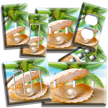 SEE SHELL PEARL PALM BEACH LIGHT SWITCH WALLPLATE OUTLET LIVING ROOM KIT... - $9.99+