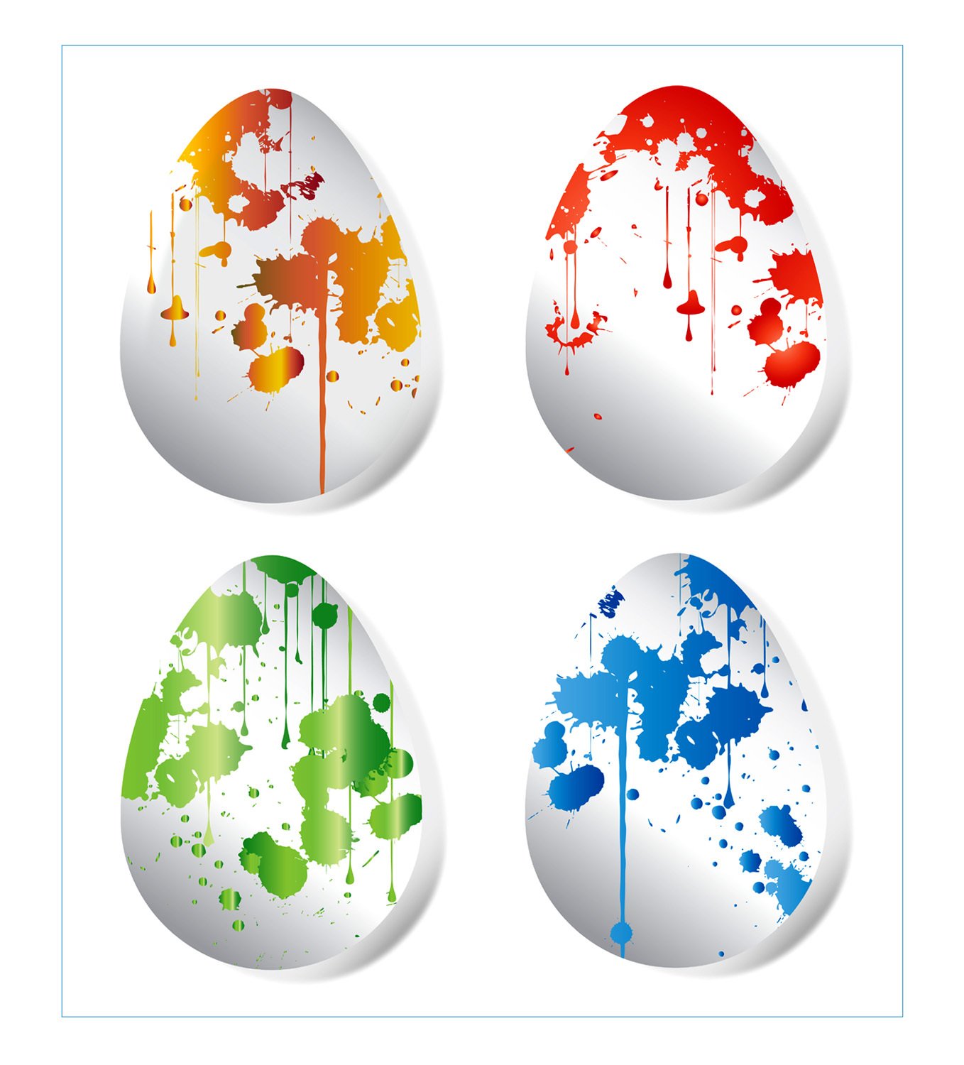 Primary image for *Easter Eggs* Digital Art 4 JPEG Images Download