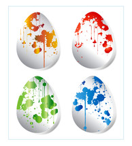 *Easter Eggs* Digital Art 4 JPEG Images Download  - $4.94