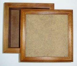 Cherry Wood Keepsake Box 5x5 opening cross stitch Mill Hill - $36.00