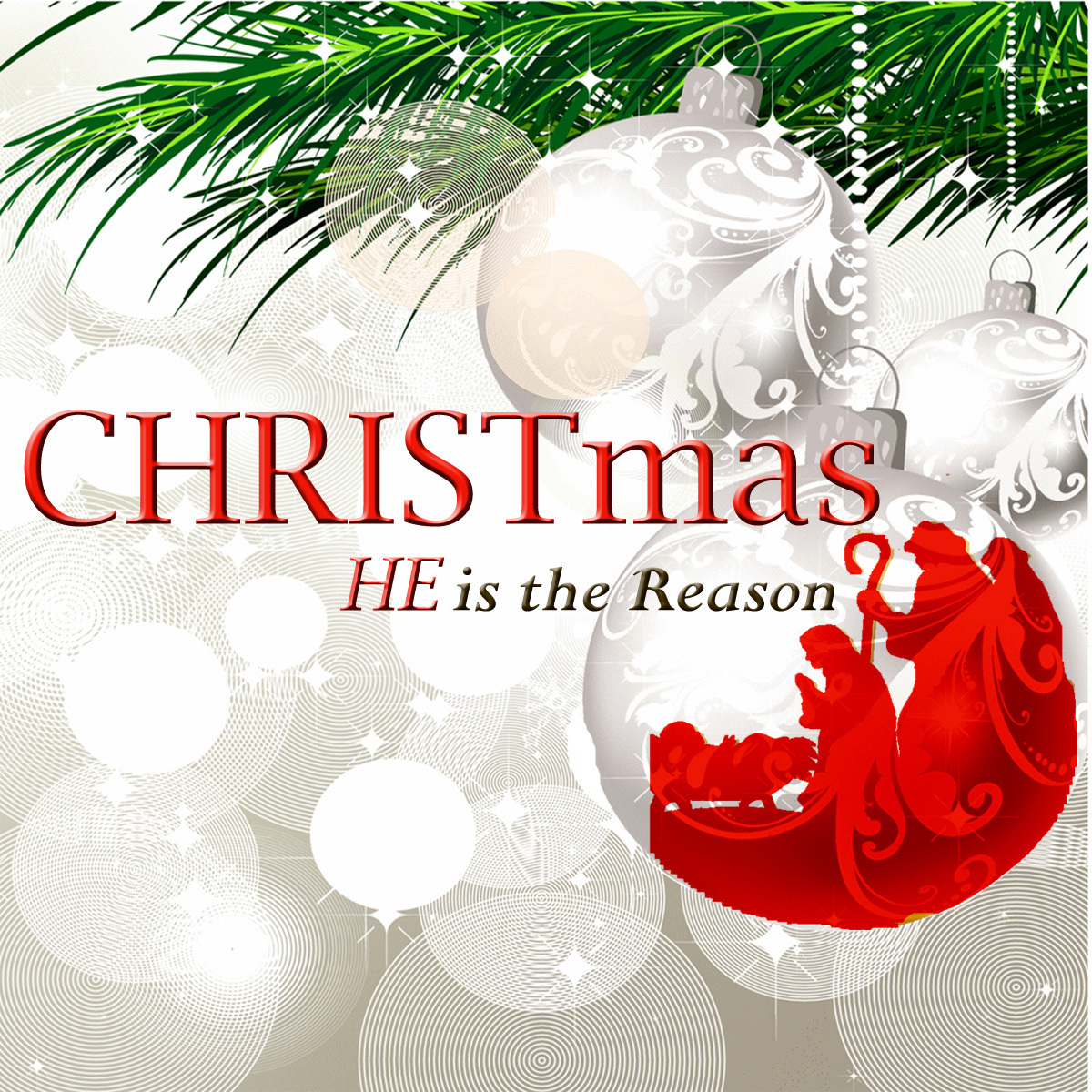 CHRISTmas - HE is the Reason by Various Artist - HBCD96
