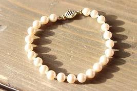 Vintage Marvella Faux Pearl Bracelet 7 inches - $9.90