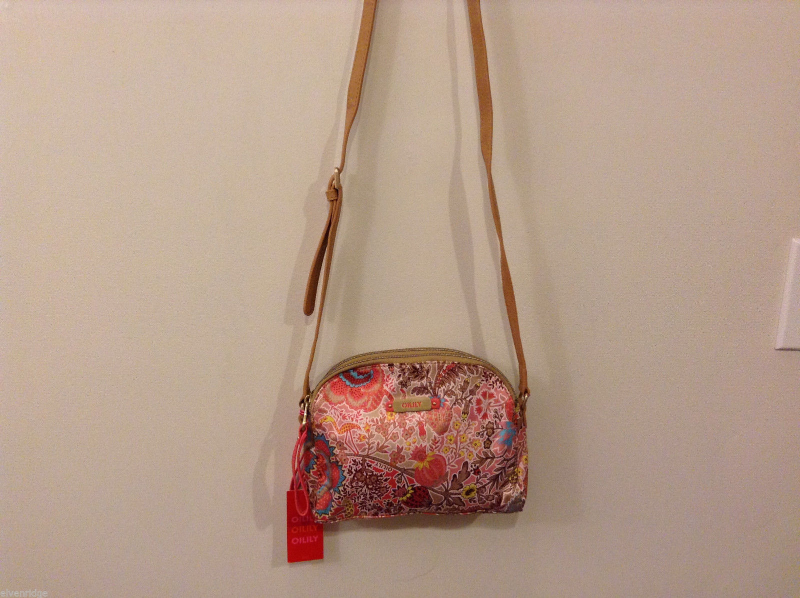Oilily Small Shoulder bag - Coral Raspberry - NEW