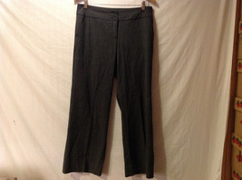 TRIBAL Womens Dark Gray Slacks Dress Pants, size 10, Rayon Polyester blend