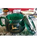 1999 John Deere Waterloo Works Recognition Green Coffee Mug w/top - $19.95