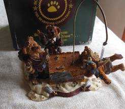 Boyds Bears Bearstone The Flying Lesson...This End Up Music Box #227801 - $50.49
