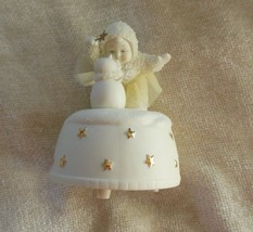"""Department 56 Snow Babies """"A Little Holiday Magic"""" Music Box """"Let It Snow"""" - $27.22"""