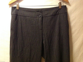 TRIBAL Womens Dark Gray Slacks Dress Pants, size 10, Rayon Polyester blend image 3