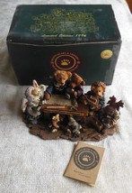 Boyds Bears Bearstone Noah & Co...Ark Builders- #2278 - $24.75