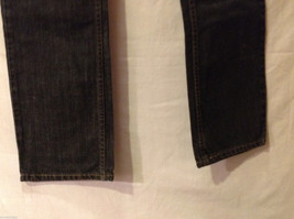 LEVI'S 514 Mens Slim Straight Black 100% Cotton Denim Jeans Pants, size 30x32 image 4