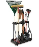 Rubbermaid Deluxe Tool Tower, Rack,Caster,Storage,Organize,Hook, Broom, ... - $59.95