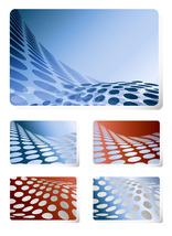*Dot Wave Wallpaper* Digital Art 5 JPEG Images Download - $12.95