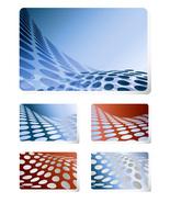 *Dot Wave Wallpaper* Digital Art 5 JPEG Images Download - $12.95