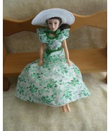 World Doll Gone With The Wind Scarlett O'Hara in Barbecue Dress  - $29.70