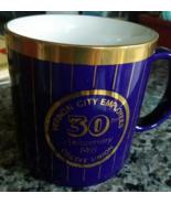 1988 Vernon City Employees Credit Union 30th Anniversary Commemorative  Mug - $10.95
