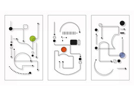 *Circuit3_Color/Black* Digital Illustration JPEG Image Download - $4.10