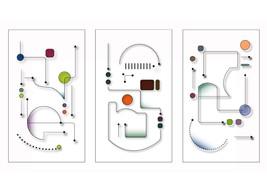 *Circuit3_Colors* Digital Illustration JPEG Image Download - $4.09