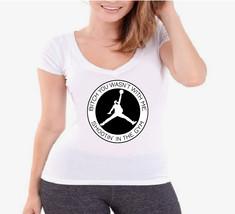 Rick Ross Jumpman Spoof Ladies V-Neck T-Shirt - $12.00
