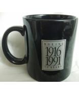 BOEING 75 Years 1916-1991 Black Coffee Mug Japan, New - $29.95