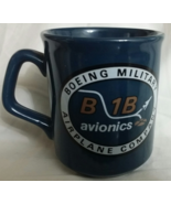 BOEING Military Airplane Company B 1B Avionics Coffee Mug England, New - $24.95