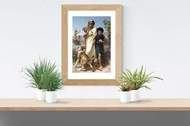 """Homer and His Guide - Bouguereau - Art Print - 13"""" x 19"""" - Custom Sizes Availabl - $25.00"""