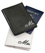 Honeymoon Gifts Mr and Mrs Passport Covers Hold... - $13.23