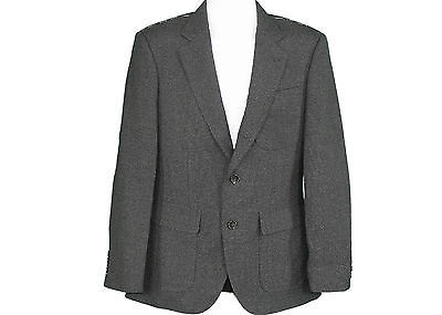 J Crew Ludlow Fielding Three-button Jacket Thornproof Wool Size 36S Style 48683