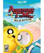 Adventure Time Finn and Jake Investigations - Wii U [Nintendo Wii U] - $14.04