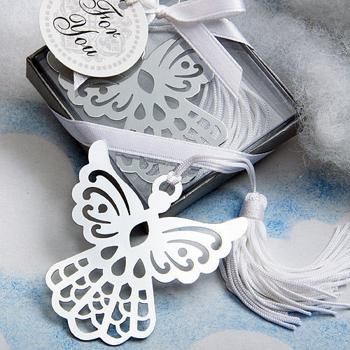 12 Angel Bookmark Bookmarks Christening Gifts Baptism Religious Favors