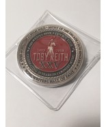 Toby Keith XXV 25th Anniversary Concert Commemorative Challenge Coin - $44.54