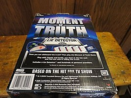The Moment of Truth Lie Detector Card Game Cardinal  Based on Hit FOX T ... - $15.87