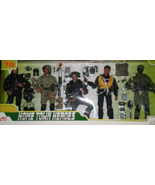 Military Men - Home Town Heroes (5 soldiers 12 inches Tall Brand New) So... - $38.00