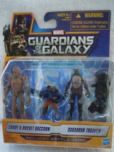 Marvel Guardians of the Galaxy Groot & Rocket Raccoon Sakaaran Trouper Hazbro - $7.99